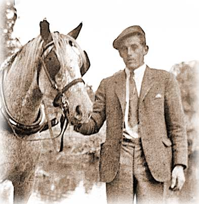 Charlie Williams who worked with heavy horses