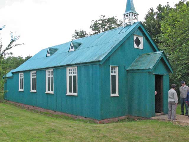 The Tin Tabernacle at Avoncroft