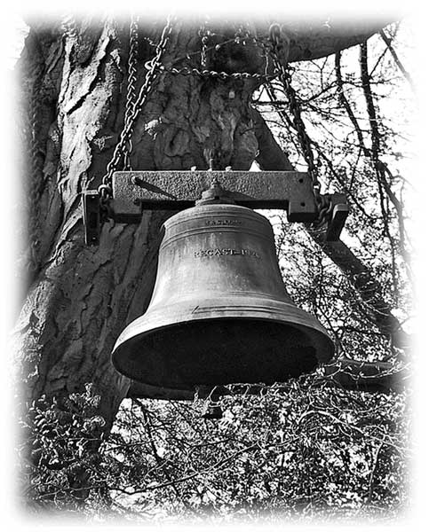 Guarlford church bell