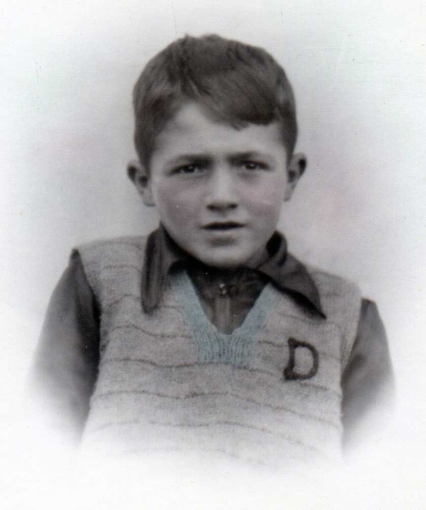 Don Smith aged six years